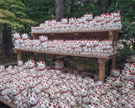 Lucky Cat Temple Japan