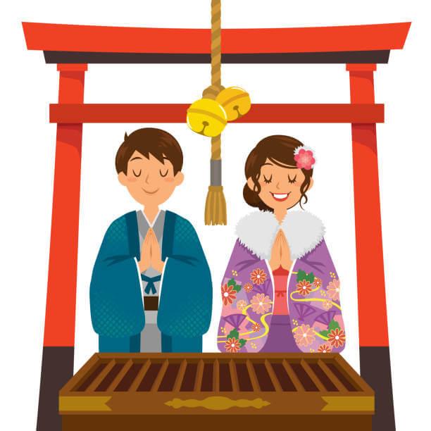 Praying for Good Luck in Japanese
