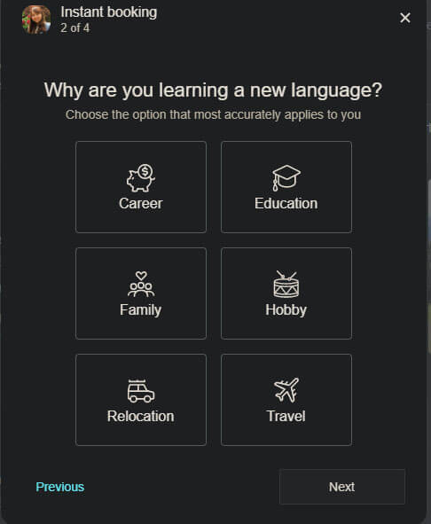 Language Preferences