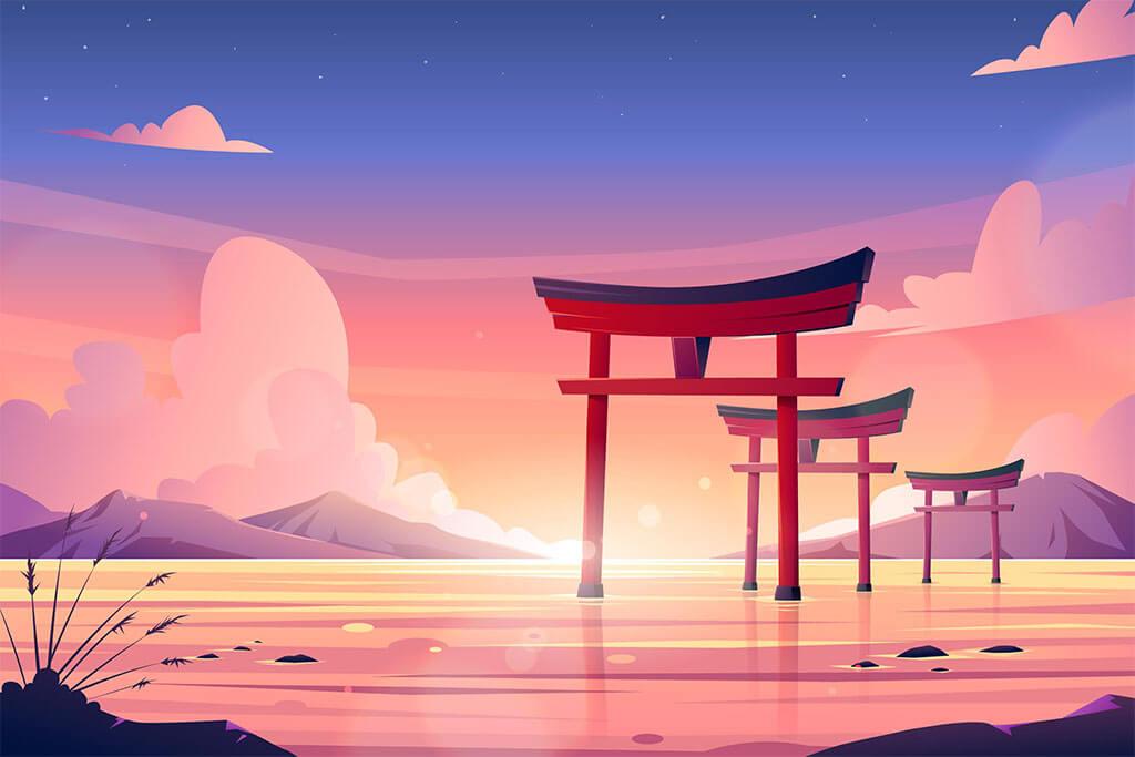Beautiful in Japanese